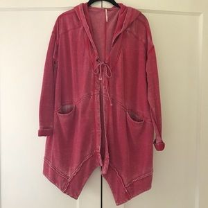FREE PEOPLE Sweatshirt Jacket